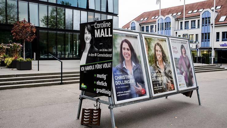 Die Reinacher SVP steigt mit Caroline Mall als Aussenseiterin in den Wahlkampf.