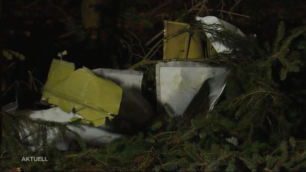 Flugzeugabsturz über Schongau: Rätselraten um die Unfallursache