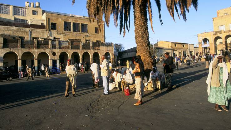 Asmara, Hauptstadt Eritreas: Von hier flüchten jedes Jahr Tausende Menschen in die Schweiz.Getty Images