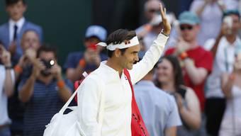 Roger Federer tritt die Erstrundenpartie von Wimbledon erstmals mit Kleidern von Uniqlo an