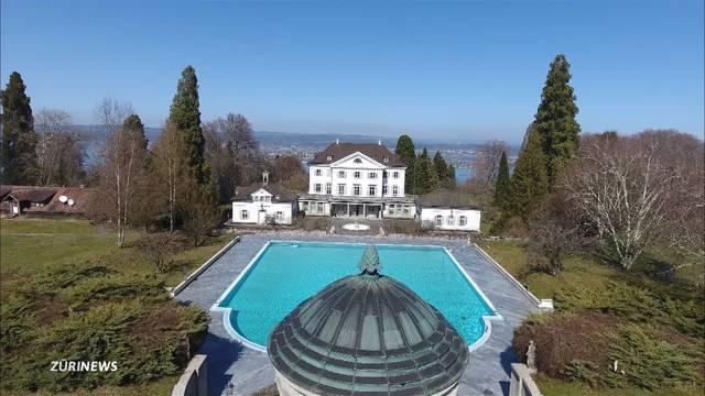 Schweizer 35-Millionen-Schloss zum Verkauf