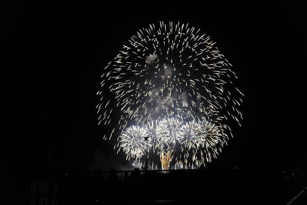 Big Bang - Feuerwerk in Biel