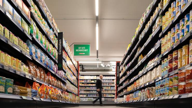 Eroeffnung SPAR Supermarkt