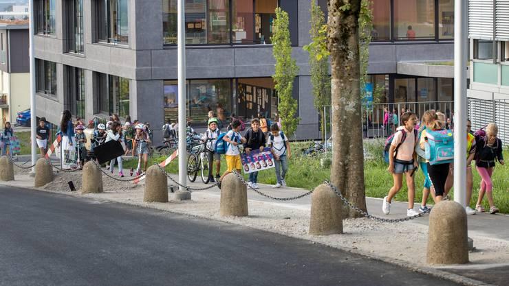 Am Montag startete im Kanton Solothurn die Schule.