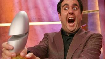 Der Komiker Bastian Pastewka bei der Entgegennahme des Deutschen Comedy Preises (Aufnahme vom Oktober 2006).