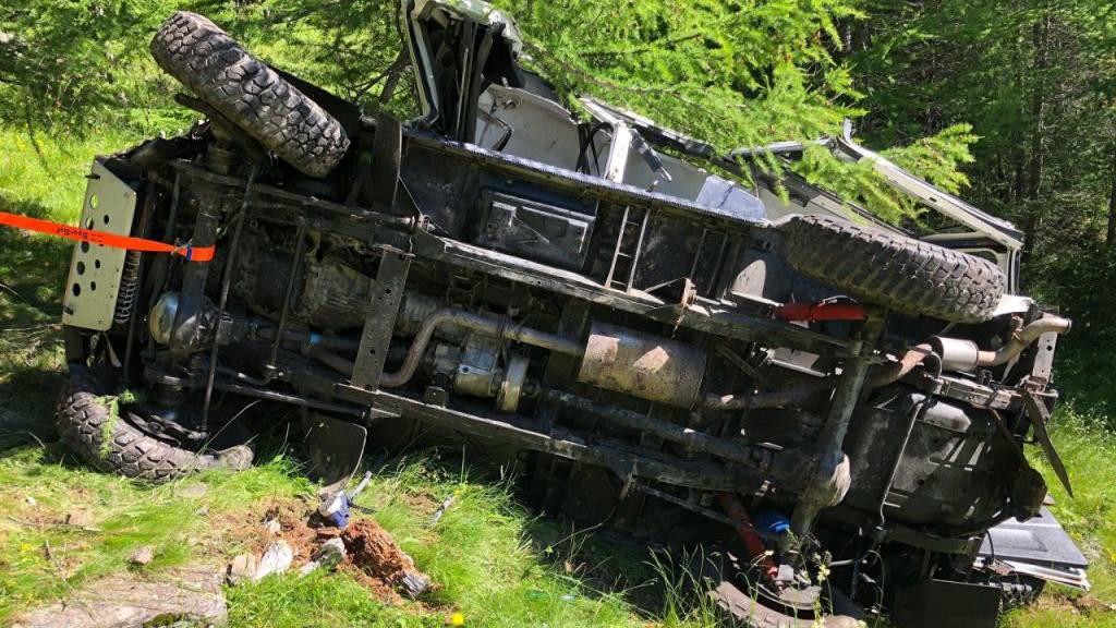 Mann stirbt bei Unfall auf Forststrasse