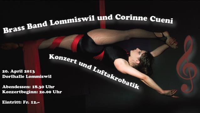 Flyer BBL-Konzert 2013
