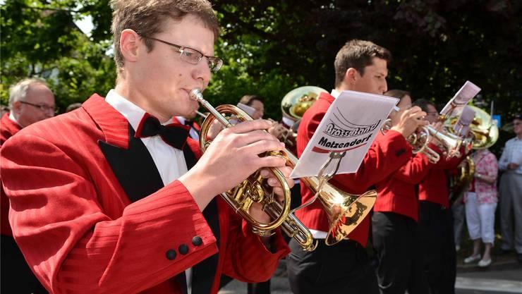 Gewann den Marschmusik-Wettbewerb am Samstag: die Brass Band Matzendorf.
