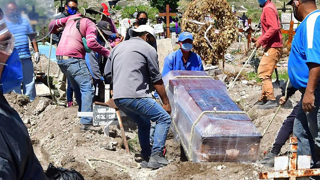 Mehr als 35'000 Coronavirus-Tote: Mexiko an vierter Stelle