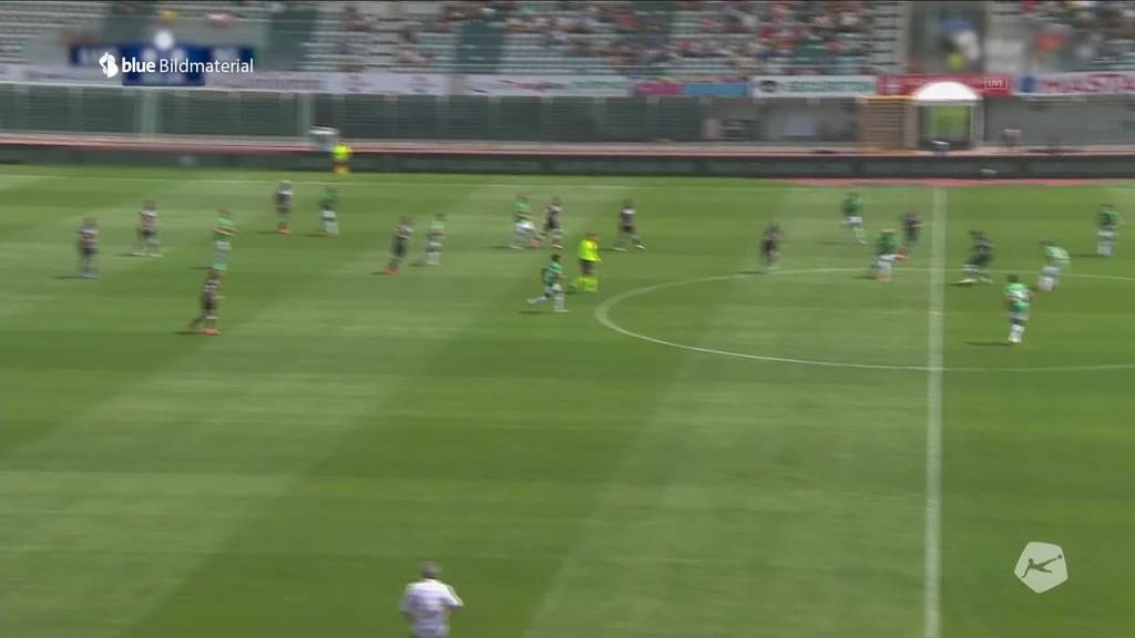 Matchtag: Der FC Lugano empfängt den FC St.Gallen