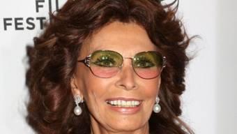 Betet den Papst an: Sophia Loren (Archiv)
