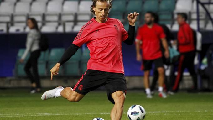 Luka Modric könnte auch zu Europas Fussballer des Jahres gewählt werden