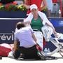 Simona Halep litt bei ihrem zweiten Turniersieg in Montreal - sie musste während des Finals gegen Sloane Stephens sogar behandelt werden