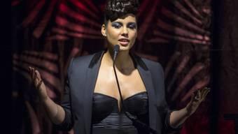 Sängerin Alicia Keys sorgt mit einem provokativen Post für Kontroversen (Archivbild).