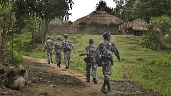 Die Uno spricht von Völkermord: Im südostasiatischen Myanmar soll es im Bundessaat Rakhine zu Gräueltaten durch das Militär an der muslimischen Rohingya-Minderheit gekommen sein. (Archivbild)