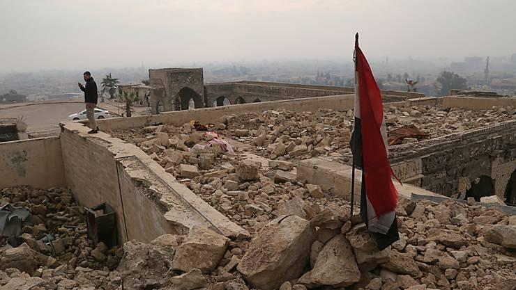 Fast die Hälfte der entdeckten Massengräber befinden sich in der Region Mossul.