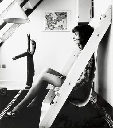Schön-schräge Idee: Der «Lean-to-Chair» von Papanek und James Hennessey aus dem Manuskript «Nomadic Furniture 2», 1974.