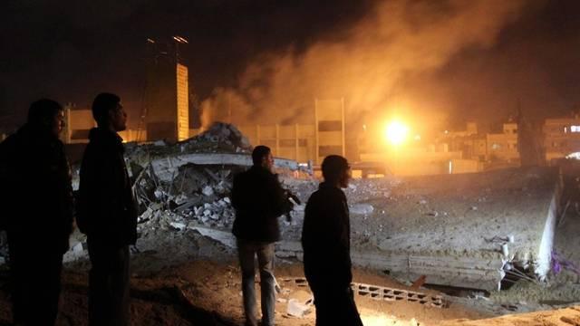 Zerstörung nach einem Luftangriff auf den Gazastreifen