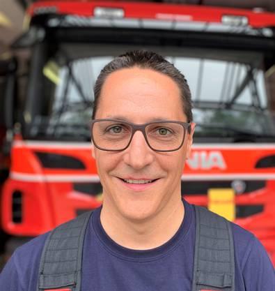 Thomas Moretton war bei der Bombenentschärfung in Buchs als Feuerwehrkommandant im Einsatz.