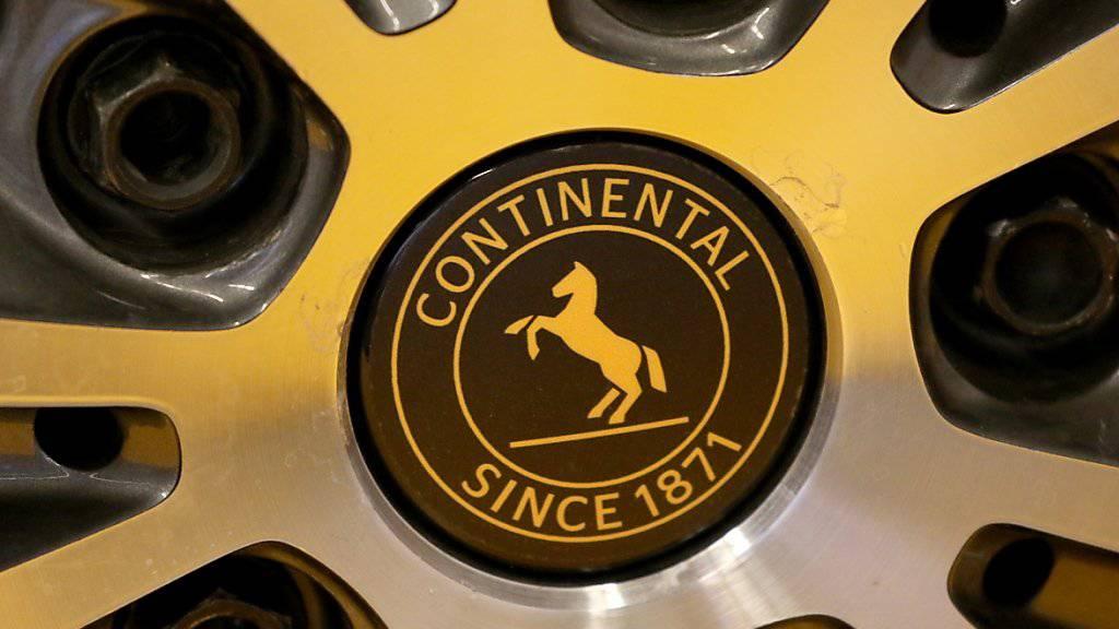 Der Reifenhersteller Continental war im ersten Quartal unter Druck. (Archivbild)