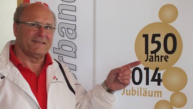 Präsident Gerhard Knecht ist stolz auf seinen 150 Jahre alten Verband.