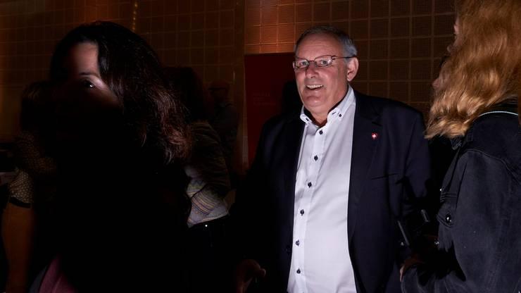SVP-Präsident Eduard Rutschmann muss einen Verlust von 5,3 Prozent bei den Wähleranteilen verkraften.