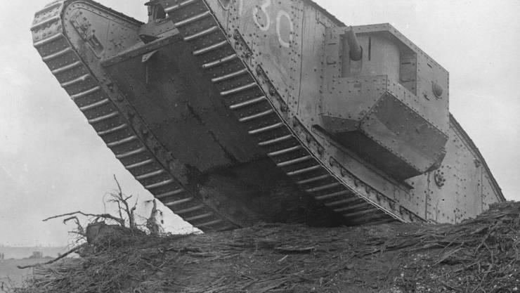 Tankangriff bei Cambrai.
