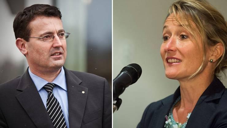 Regierungsrätin Susanne Hochuli nimmt den SVP-Angriff auf ihren Sitz gelassen.