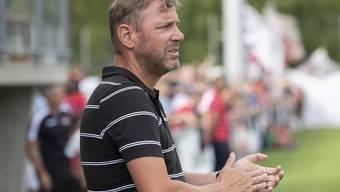 Sions Trainer Stéphane Henchoz erhält zur Ergänzung seines Teams einen Youngster aus Argentinien