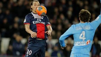 Ohne Tor aber mit Assist: Zlatan Ibrahimovic
