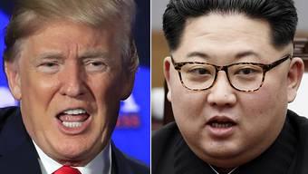 Nach Wochen des Tauwetters zwischen Nordkorea und den USA droht nun wieder eine Verschärfung der Spannungen. (Archiv)