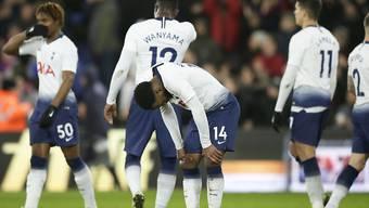 Grosse Enttäuschung bei Tottenham: Die Londoner scheiden auch im FA-Cup aus