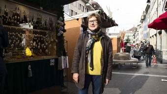 Vreni Büchi stand bei der Eröffnung «ihres» letzten Weihnachtsmarkts im Fokus.