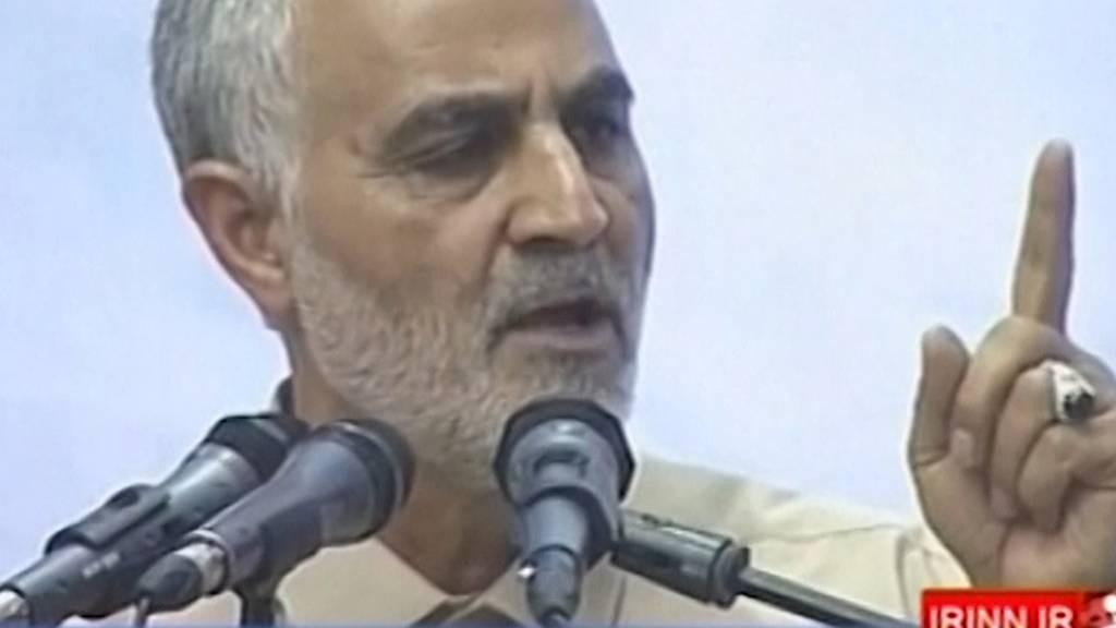 Gefährliche Eskalation: US-Militär tötet hohen iranischen General
