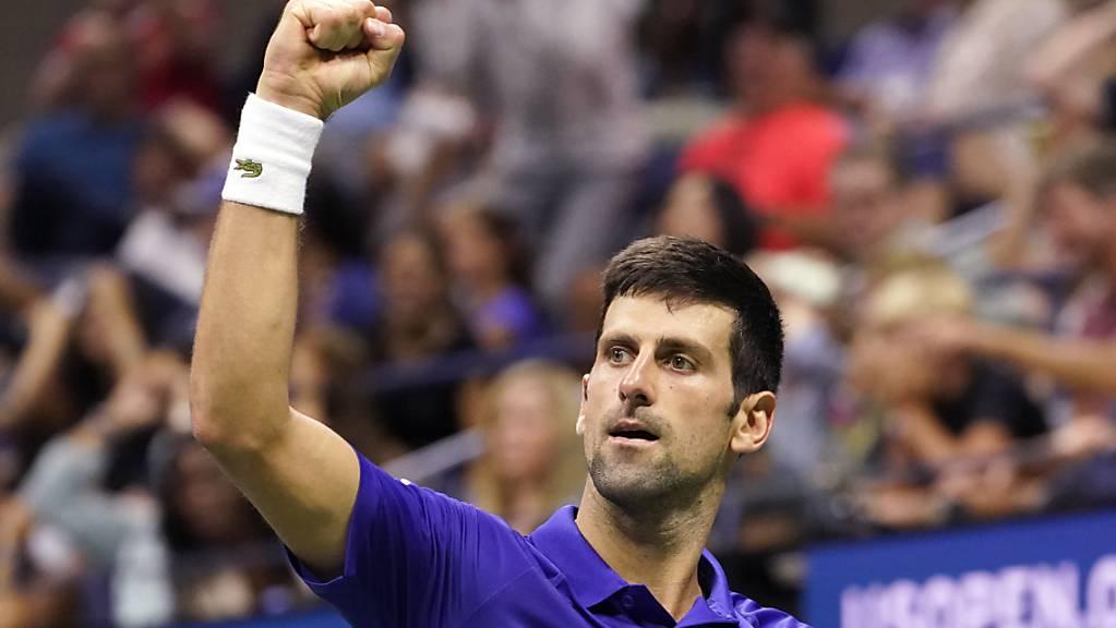 Novak Djokovic verlor zum dritten Mal in diesem Turnier einen Satz.
