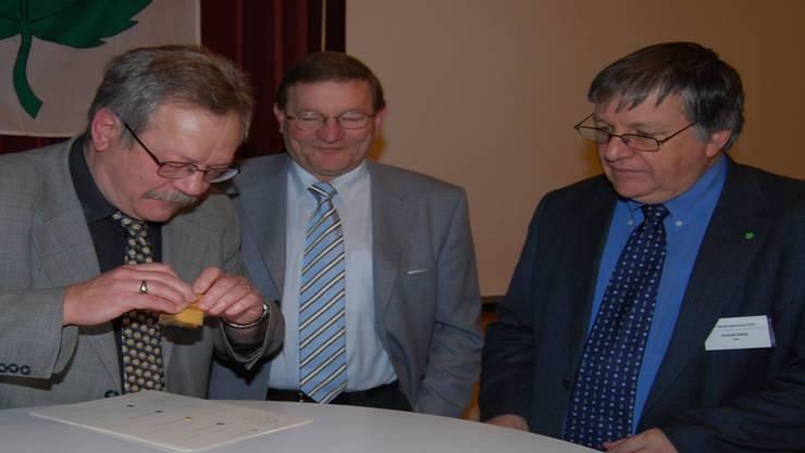 2009 haben die Gemeinden die Fricktal Charta unterzeichnet. Archiv/SH