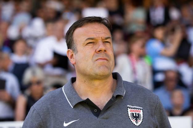 FCA-Trainer Patrick Rahmen würde gerne zum FC Basel wechseln, doch die Verhandlungen sind gescheitert.