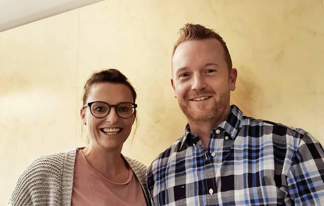 Fabienne Meyer und Rico Peter.