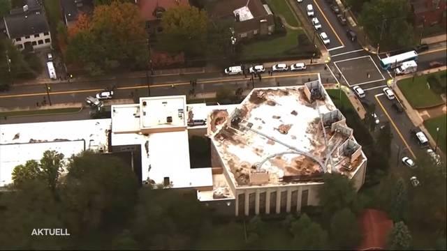 Anschlag auf Synagoge in Pittsburgh