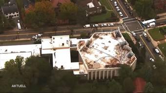 Anschlag auf Synagoge in Pittsburgh. Ein Mann erschoss während einer Zeremonie elf Menschen und verletzt sechs weitere.