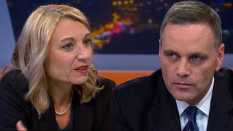 Regierungsratsewahlen Aargau: Yvonne Feri und Jean-Pierre Gallati in der Sendung TalkTäglich auf Tele M1