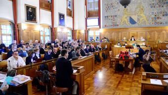 Zürcher Stadtparlament nimmt Budgetdebatte in Angriff. (Archiv)