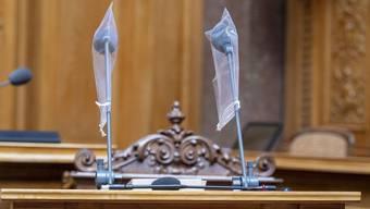 Im Bundeshaus wird die Rückkehr des Parlamentes vorbereitet.