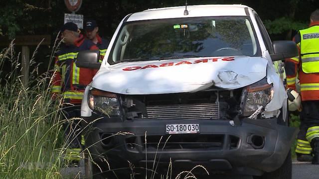 Rega-Einsatz nach Unfall bei Subingen