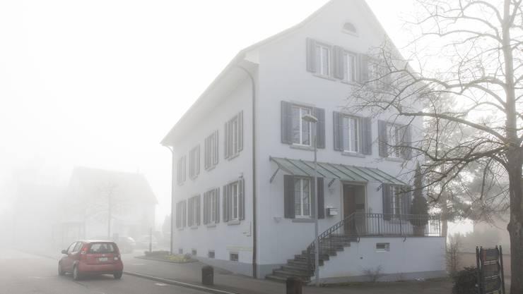 Das Gemeindehaus Uitikon, am 10. Januar 2018.