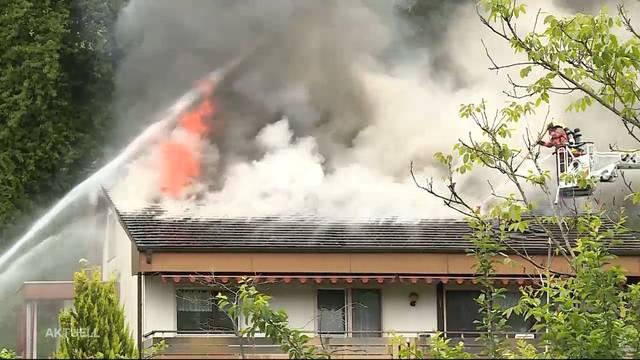Grosser Schaden bei Brand in Kaisten