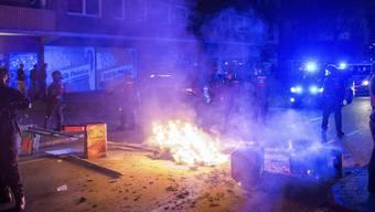 Die Gewaltexzesse am Rande des G20-Gipfels haben Folgen: Derzeit sitzen 51 Personen in Hamburg in Untersuchungshaft. (Archiv)