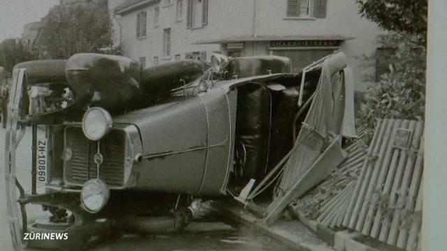 Unfallbilder aus Stadtarchiv