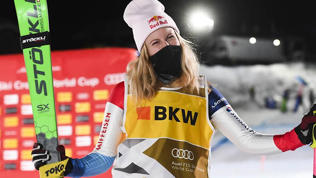 Fanny Smith sichert sich den 26. Weltcupsieg
