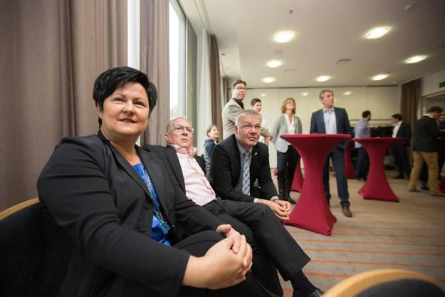 Marianne Meister in der Parteizentrale der FDP im Ramada